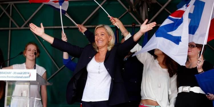 Valls II ne survivra pas à l'hiver, affirme Marine Le Pen