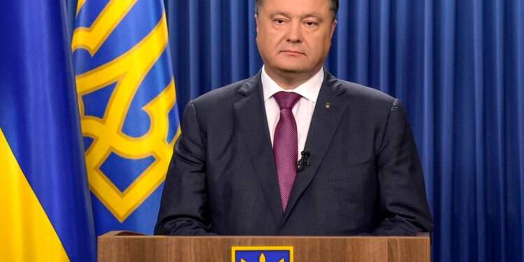 Le Parlement ukrainien dissout, élections le 26 octobre