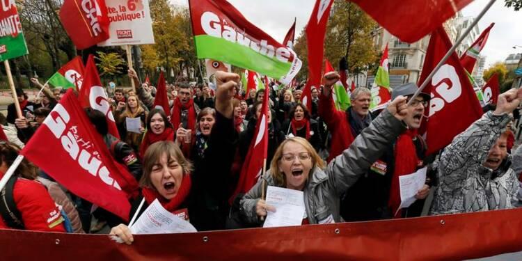 Des milliers de personnes défilent contre l'austérité