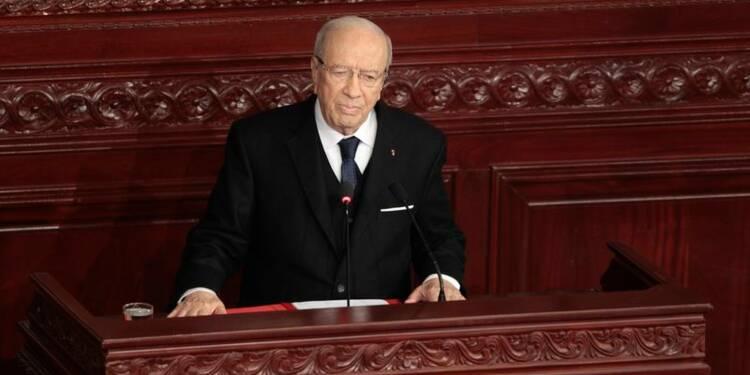 Prestation de serment du nouveau président tunisien