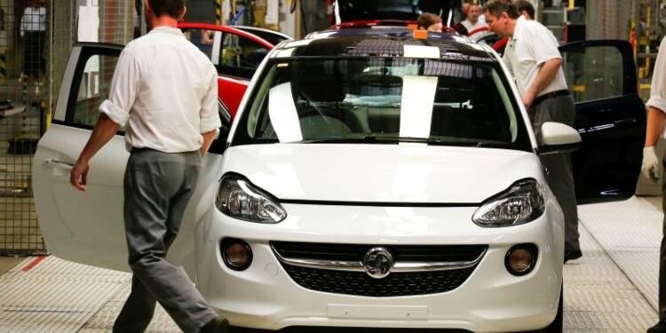 General Motors a accru ses ventes de 3% en Europe en 2014