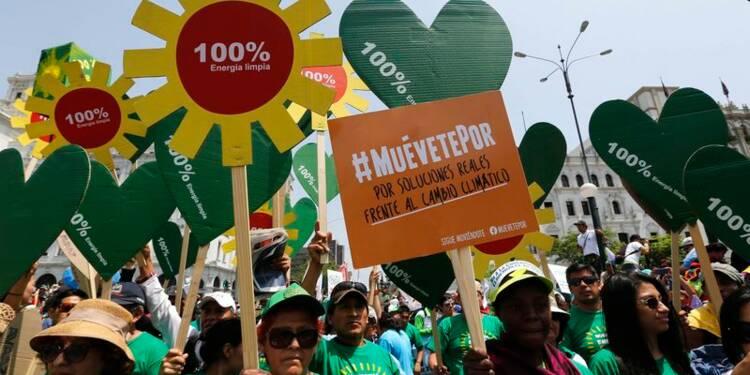 Appels à un accord sur le climat assurant les droits de l'homme