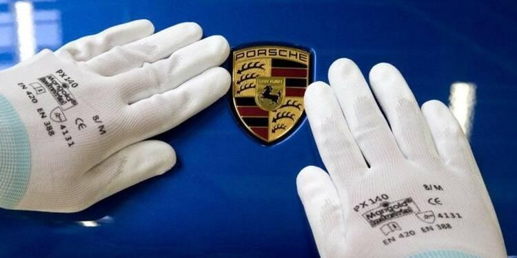Porsche a vu ses ventes augmenter de 18% en octobre, succès du modèle hybride