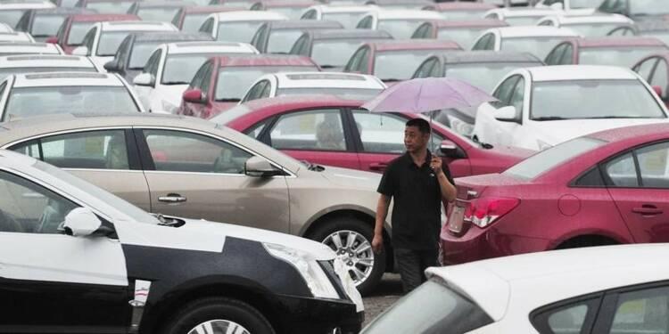 Record de ventes de voitures en Chine en 2014 pour GM