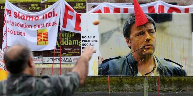 Manifestation à Milan en marge du sommet de l'UE sur l'emploi