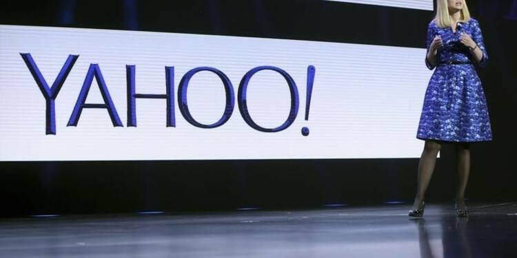 Hausse du chiffre d'affaires de Yahoo de 1%, malgré la publicité