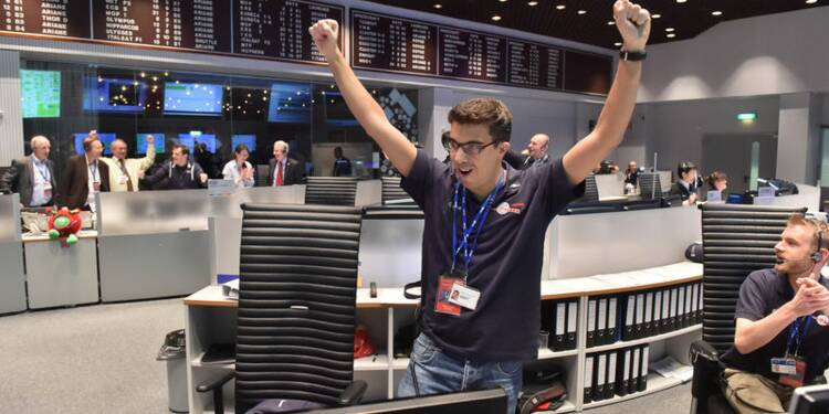 """Le robot Philae se pose sur la comète """"Tchouri"""""""