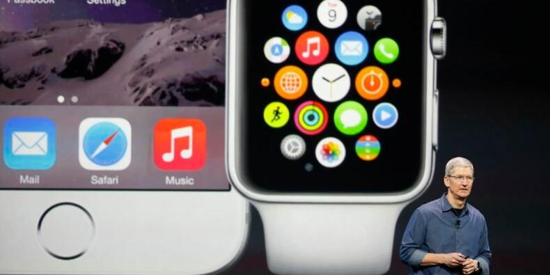 Apple lance sa montre connectée et les iPhone 6