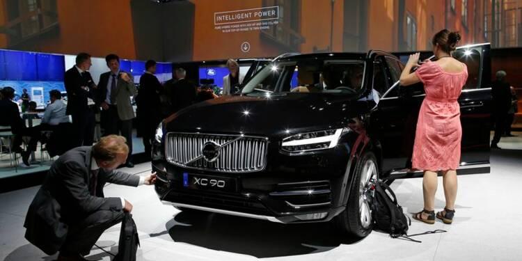 Volvo va créer 1.300 emplois en Suède pour doper sa production