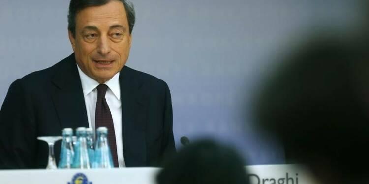 La BCE prendra de nouvelles mesures si nécessaire, dit Draghi