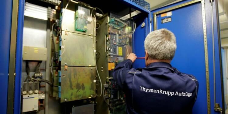 ThyssenKrupp espère son 1er bénéfice net en trois ans