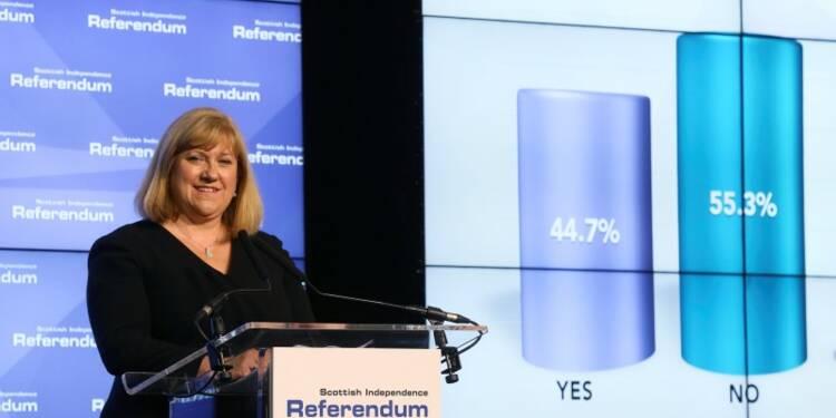 Les Ecossais rejettent l'indépendance à une nette majorité