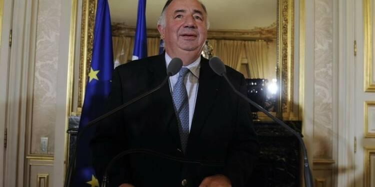 Gérard Larcher candidat UMP à la présidence du Sénat