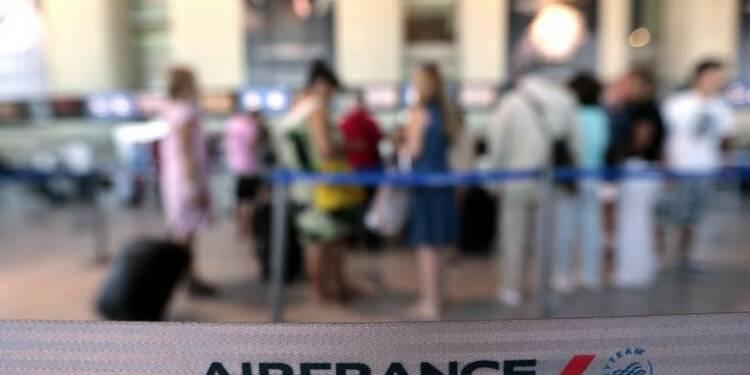 Le trafic passagers d'Air France-KLM en hausse de 3,1% en août