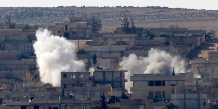 Les Kurdes de Kobani, en Syrie, résistent toujours aux djihadistes