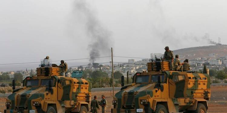 Assiégés, les Kurdes de Kobani lancent un appel à l'aide
