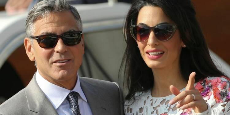 George Clooney a épousé l'avocate Amal Alamuddin à Venise