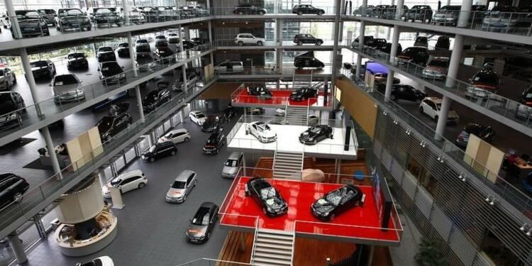 Le marché automobile allemand en hausse de 7% en décembre