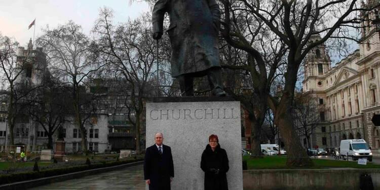 Cinquante ans après, Londres commémore les obsèques de Churchill