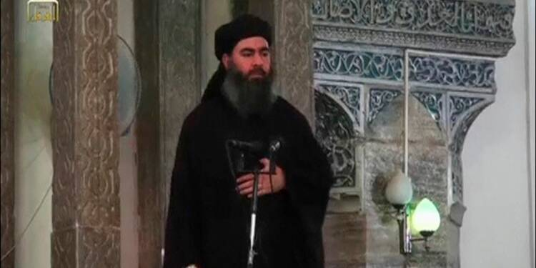 """Le chef de l'EI vante l'expansion du """"califat"""""""