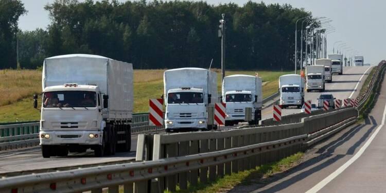 Moscou envoie un convoi d'aide humanitaire en Ukraine