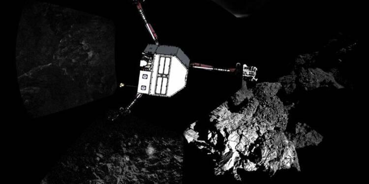 A court de batterie, le module Philae s'est éteint
