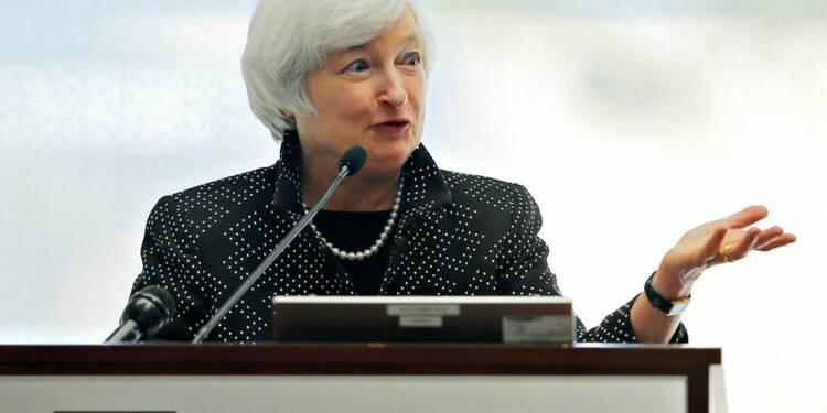 Janet Yellen se dit préoccupée par la montée des inégalités