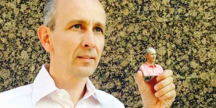 Sylvain Preumont : Il imprime votre minifigurine en 3D