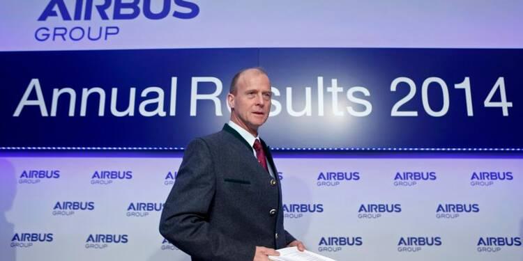 Hausses de production, du dividende... et de l'action Airbus