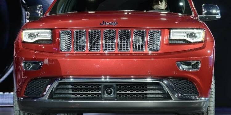 Chrysler rappelle plus de 184.000 SUV dans le monde