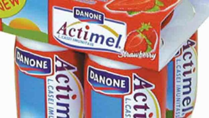 Danone : ses yaourts santé n'ont plus la forme