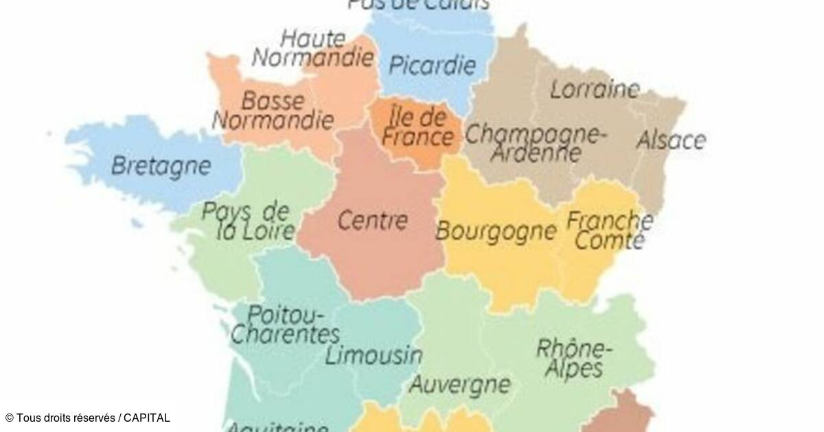 Le Parlement Vote La Carte De France A 13 Regions Capital Fr