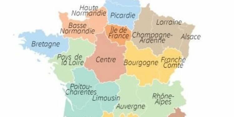 Le Parlement vote la carte de France à 13 régions