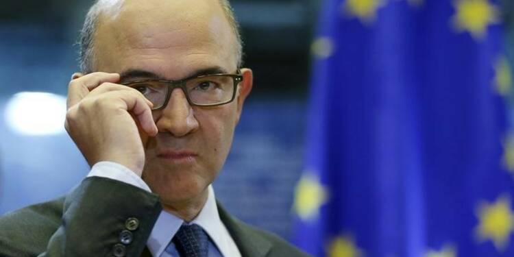Moscovici juge l'effort de réformes de Paris pas suffisant