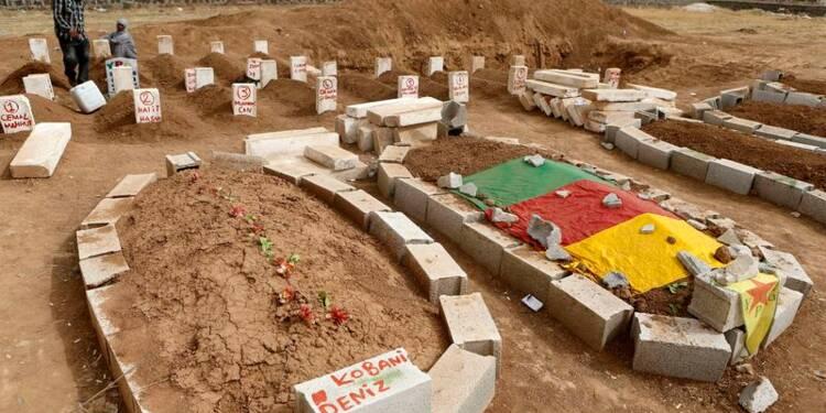 Les défenseurs kurdes de Kobani veulent plus de raids aériens