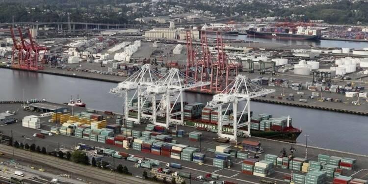 Baisse du déficit commercial en juillet aux Etats-Unis