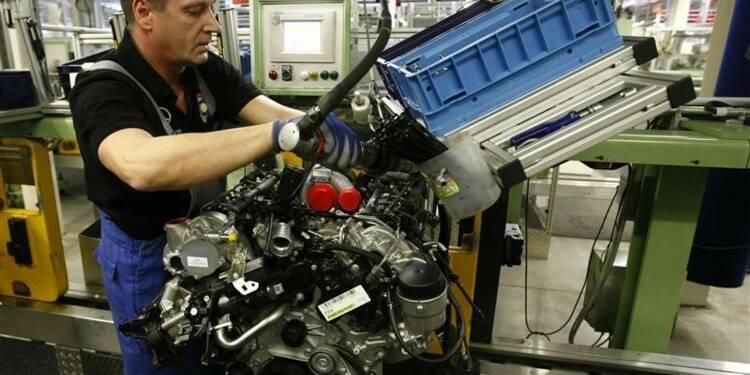 Forte hausse en Allemagne des coûts du travail