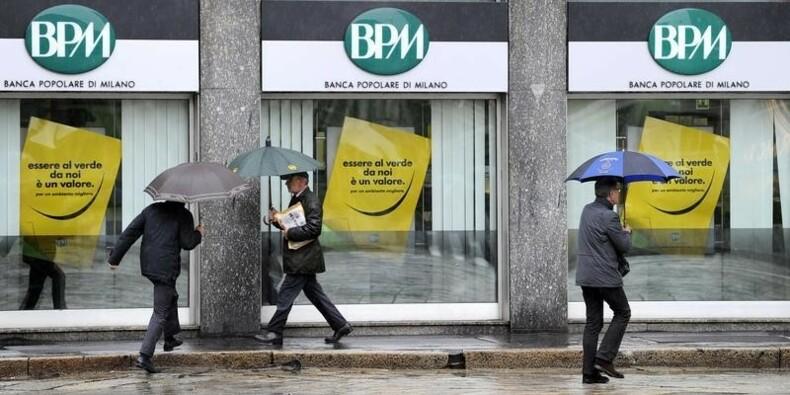 Le gouvernement italien veut réformer les banques coopératives