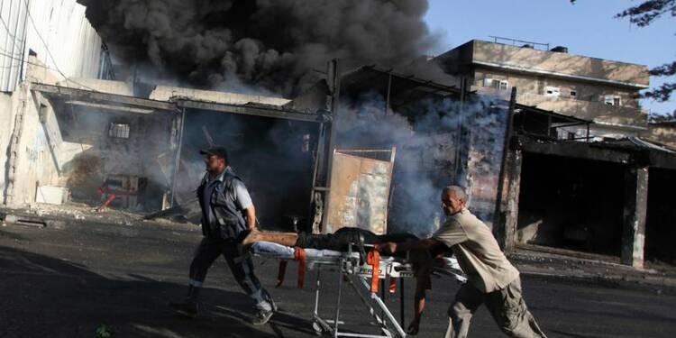 Bombardement israélien près d'un marché à Gaza, 17 morts