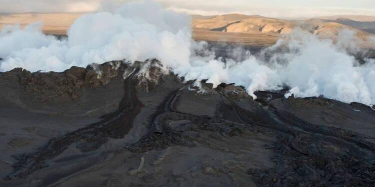Séisme sous le cratère du volcan Bardarbunga en Islande