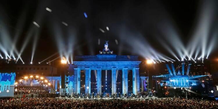 Berlin célèbre le 25e anniversaire de la chute du Mur