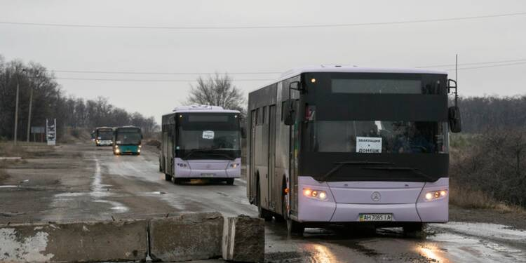 Trêve locale pour évacuer des civils dans l'est de l'Ukraine
