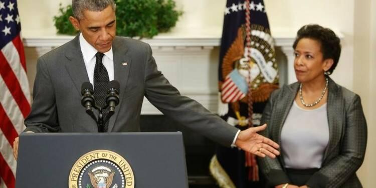 Obama choisit une femme noire comme ministre de la Justice