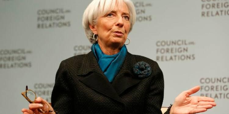 Pas de traitement spécial pour la Grèce, dit Christine Lagarde