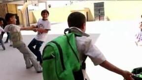 Syrie: à Alep, la rentrée scolaire s'est faite dans les abris