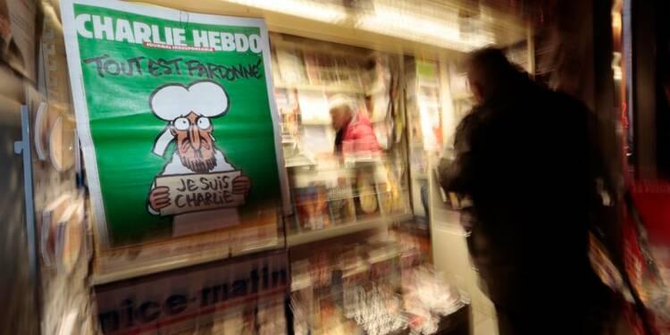 Charlie Hebdo va dépasser 7 millions d'exemplaires vendus