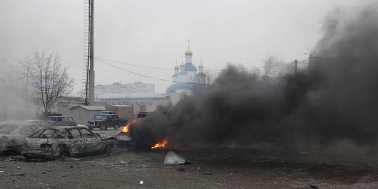 20 morts en Ukraine, attaque revendiquée par les séparatistes