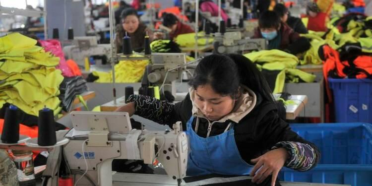 Contraction en Chine de l'activité dans le secteur manufacturier
