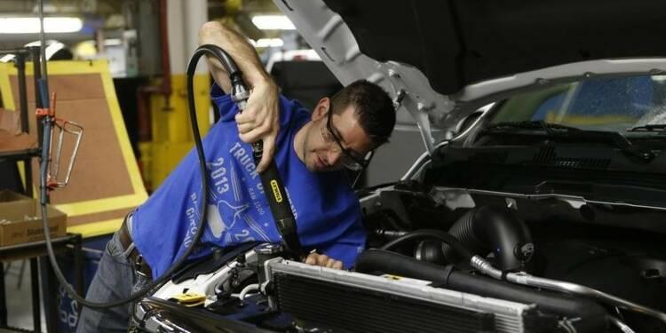 Hausse de 0,4% de la production industrielle en juillet aux USA