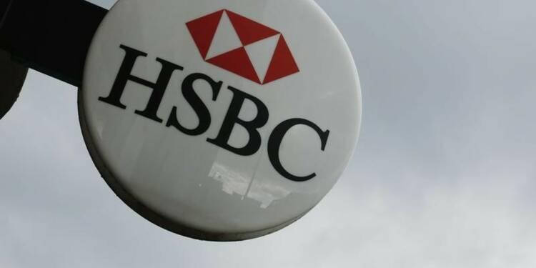 Le bénéfice semestriel d'HSBC affaibli par le premier trimestre